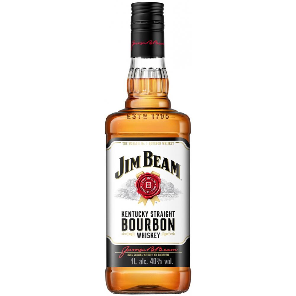 Знаменитый американский бурбон jim beam red stag