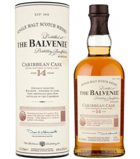 Виски Balvenie Caribbean Cask 14 years old